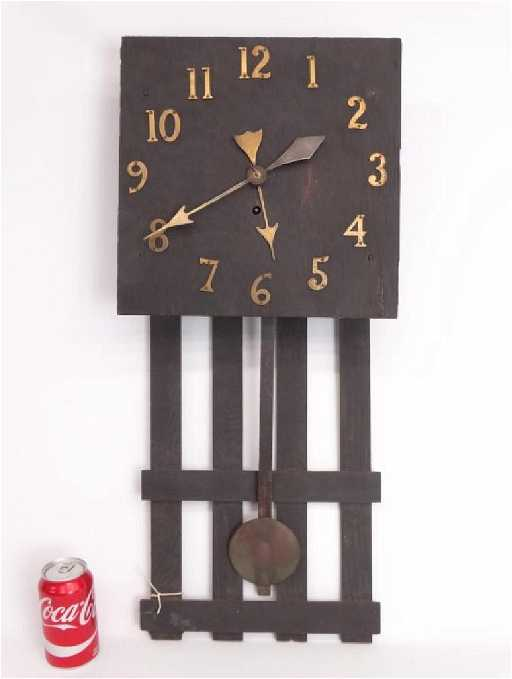Arts & Crafts Period Wall Clock