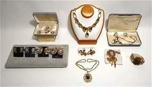 Vintage Designer/Costume Jewelry Lot, Trifari etc.