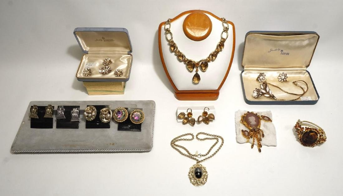 Vintage Designer/Costume Jewelry Lot, Trifari etc.