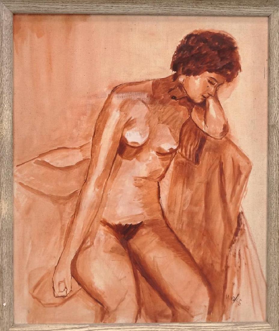 R. Hoenic (20th Century, Woodstock N.Y. School) - 2