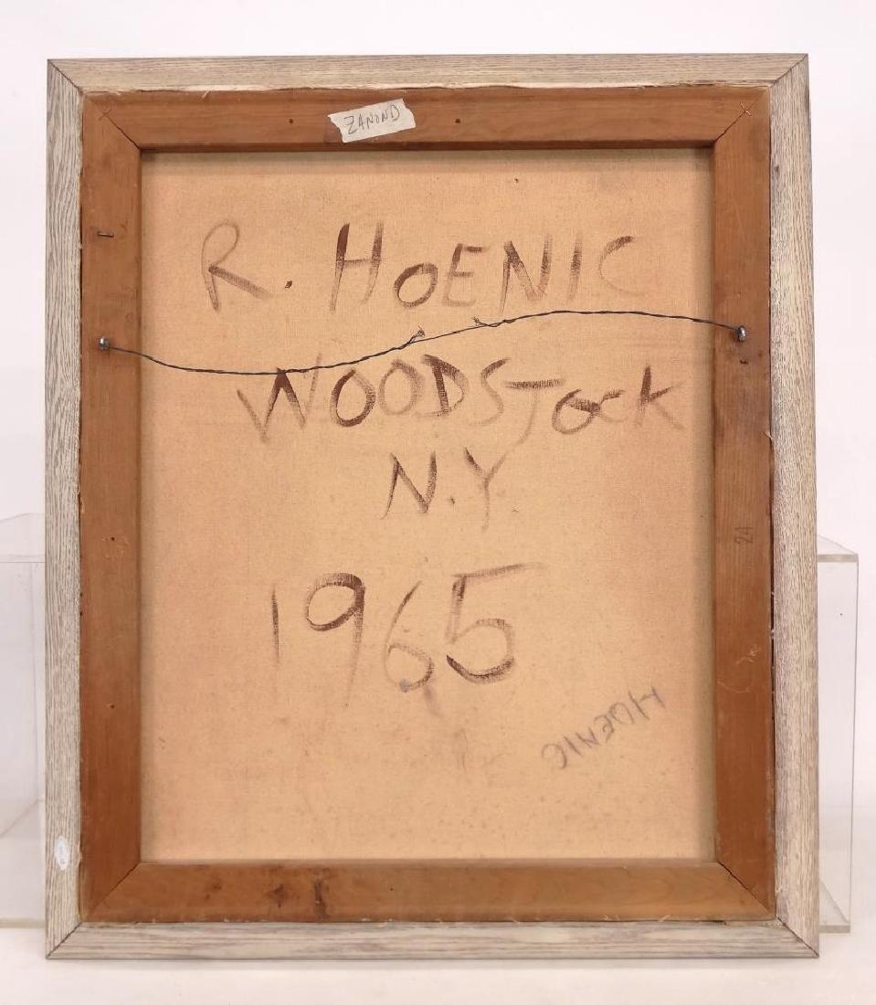 R. Hoenic (20th Century, Woodstock N.Y. School) - 7
