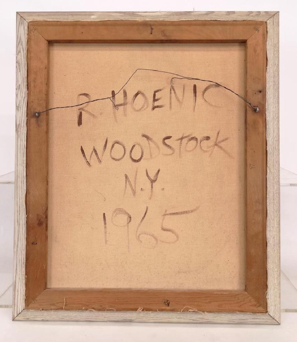 R. Hoenic (20th Century, Woodstock N.Y. School) - 8