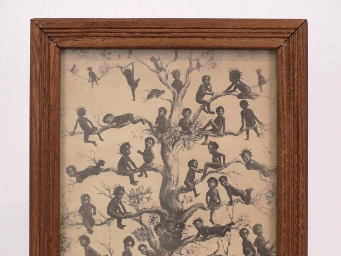 1908 Black Americana Print - 2