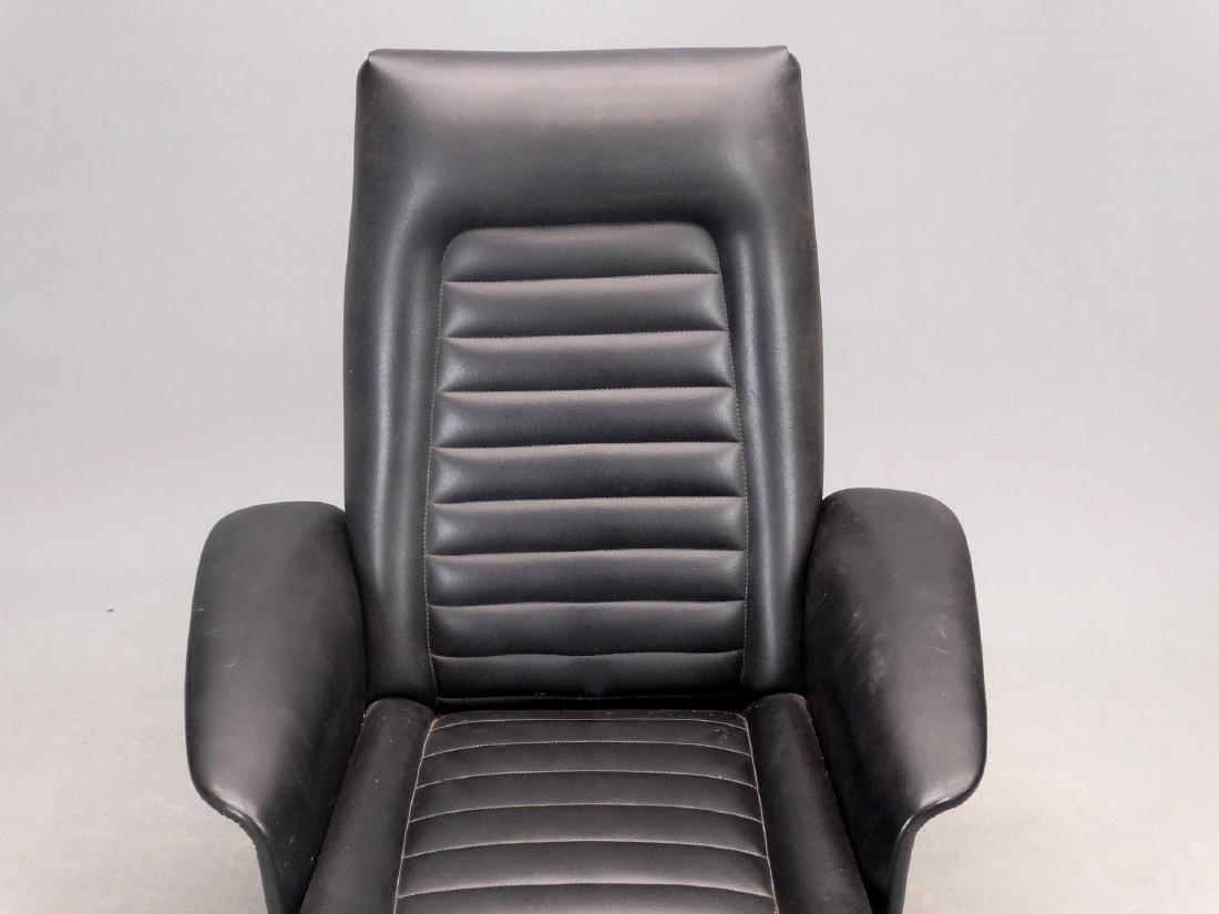 Mid Century Chair & Ottoman - 4