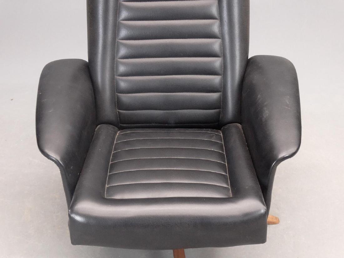 Mid Century Chair & Ottoman - 5