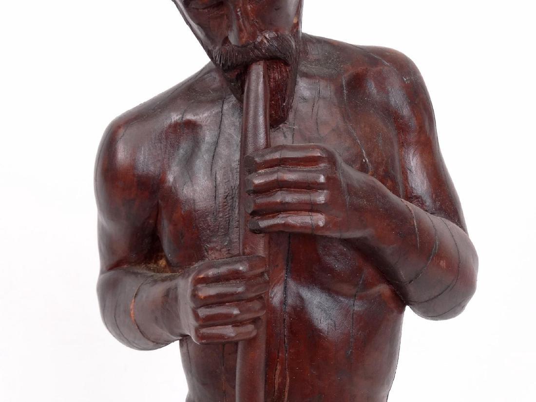 Milan Popovic Wooden Sculpture - 3