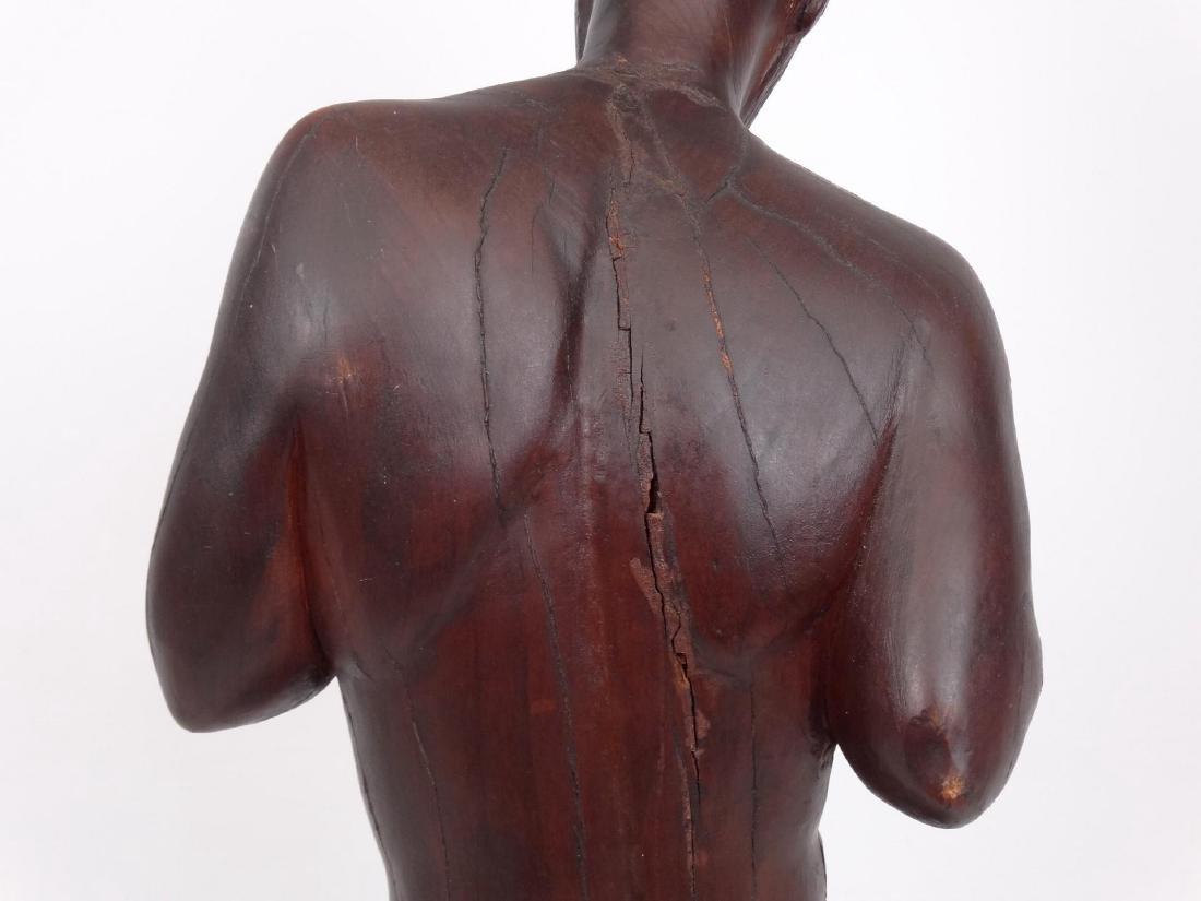 Milan Popovic Wooden Sculpture - 7
