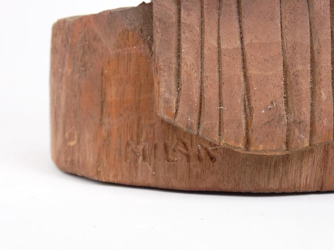 Milan Popovic Wooden Sculpture - 5