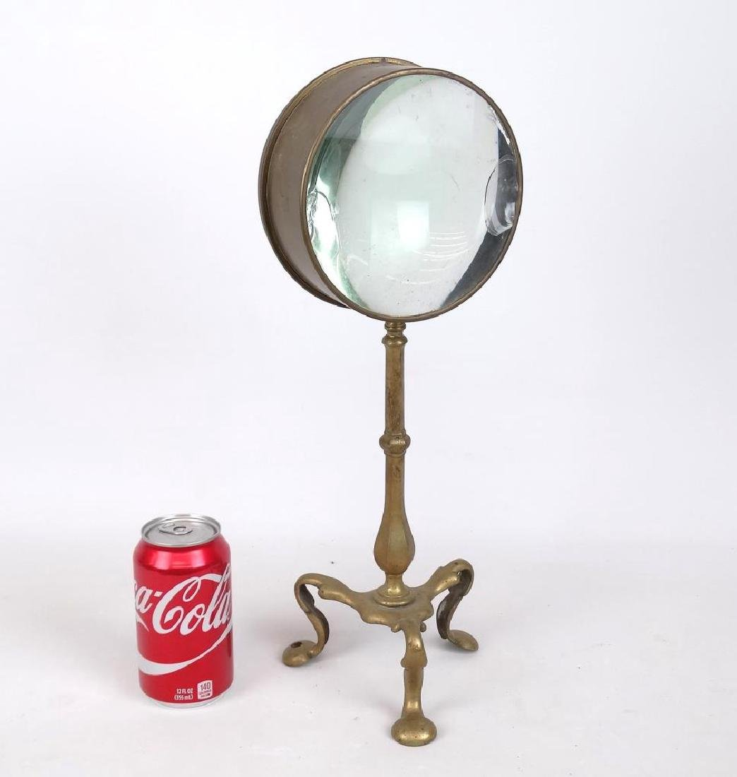 Early Brass Magnifying Glass