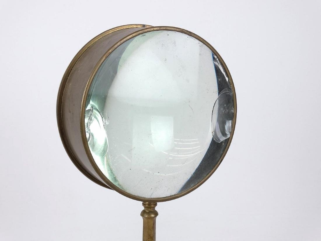 Early Brass Magnifying Glass - 2