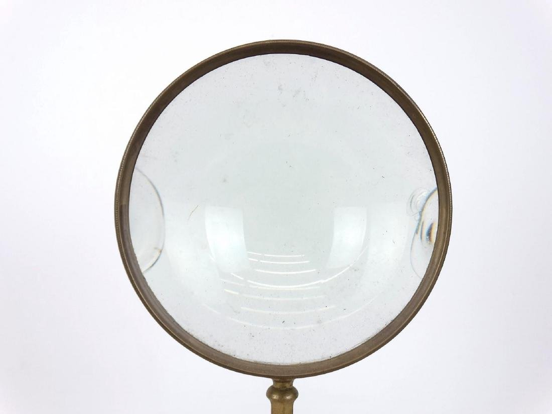 Early Brass Magnifying Glass - 5
