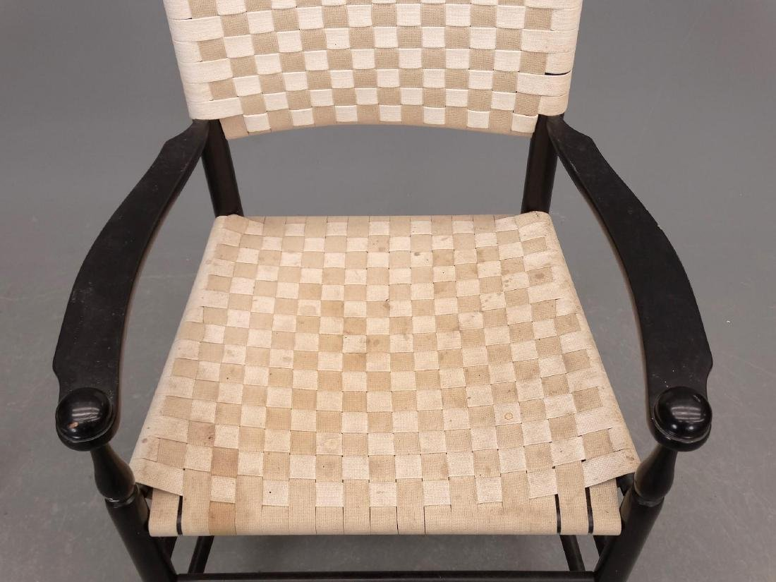 Pair Shaker Style Armchairs - 3