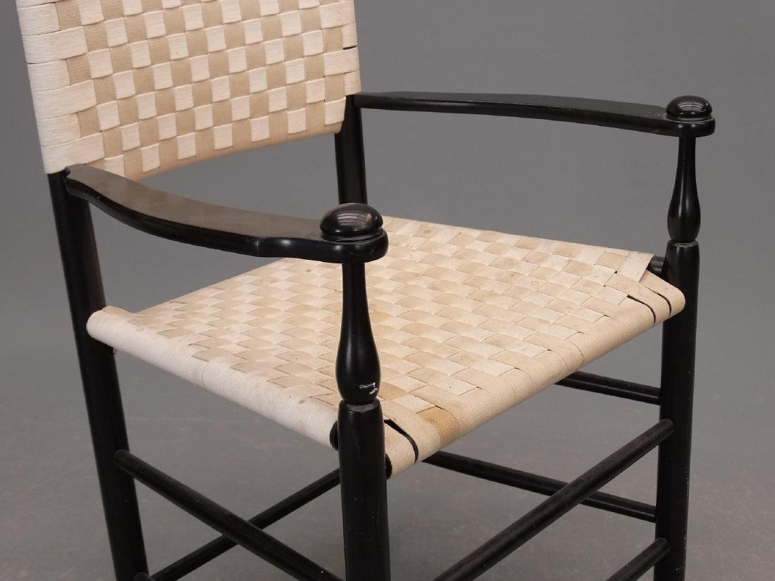 Pair Shaker Style Armchairs - 4