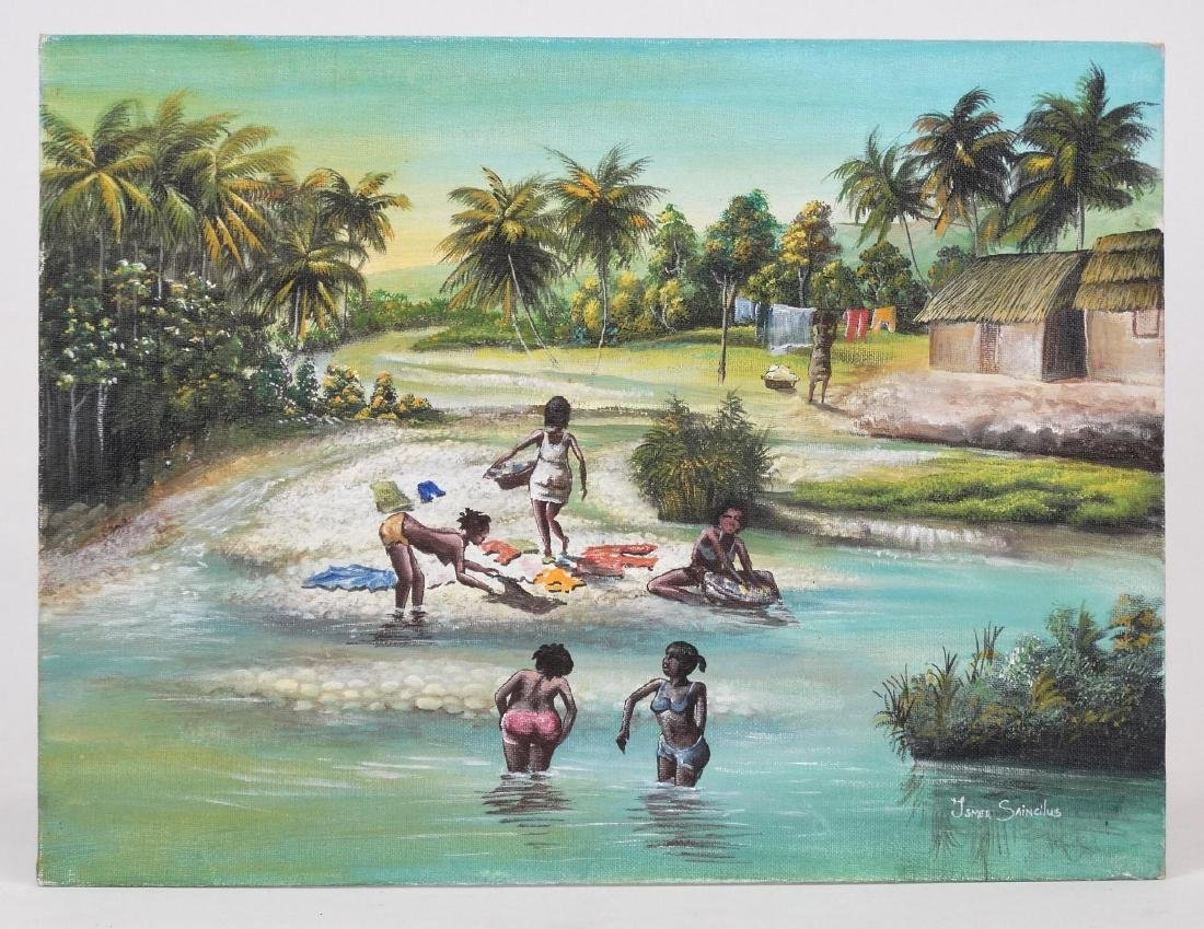Ismer Saincilus, Beach Scene