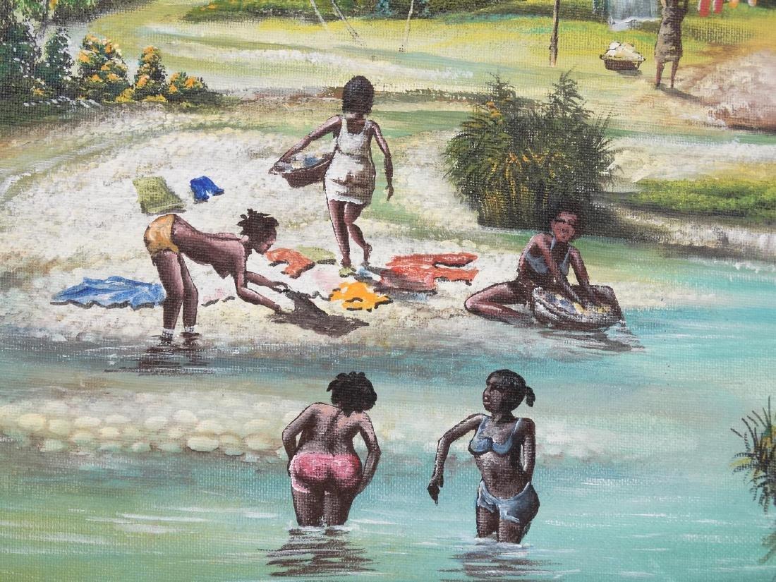 Ismer Saincilus, Beach Scene - 2