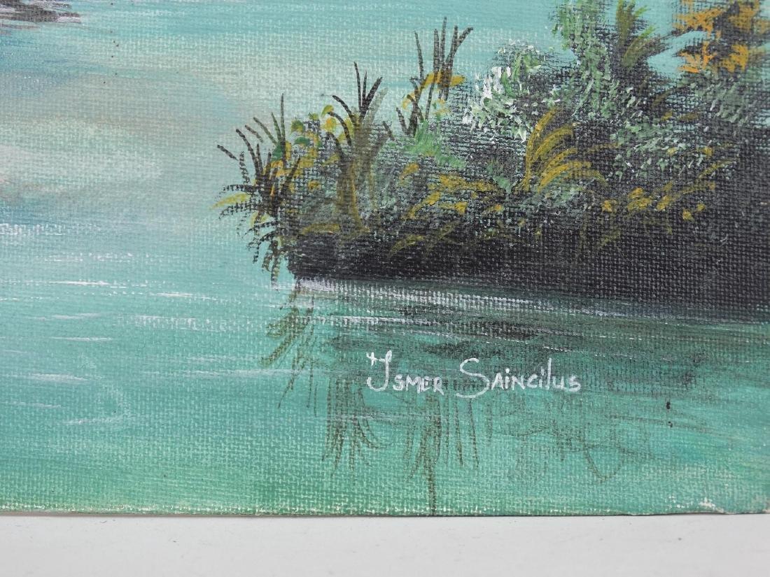 Ismer Saincilus, Beach Scene - 3