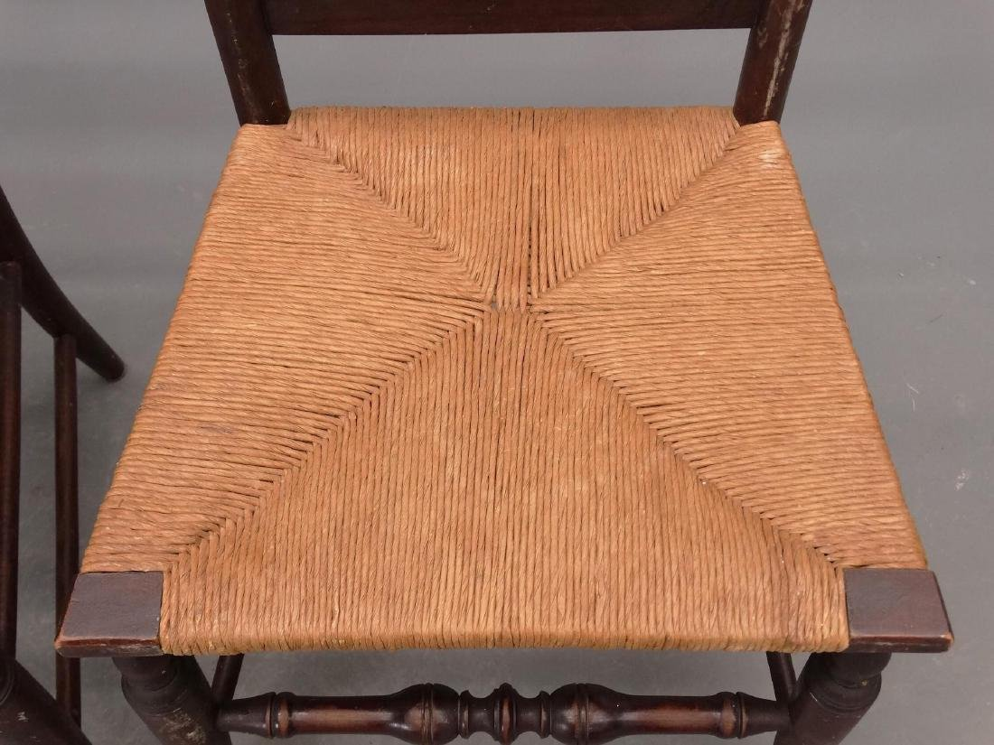 Set Of (4) Queen Anne Style Chairs - 3