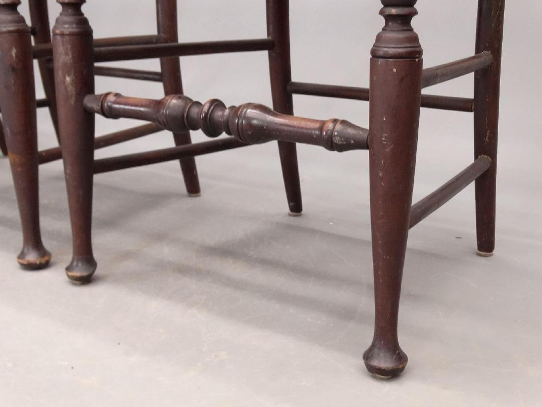 Set Of (4) Queen Anne Style Chairs - 5