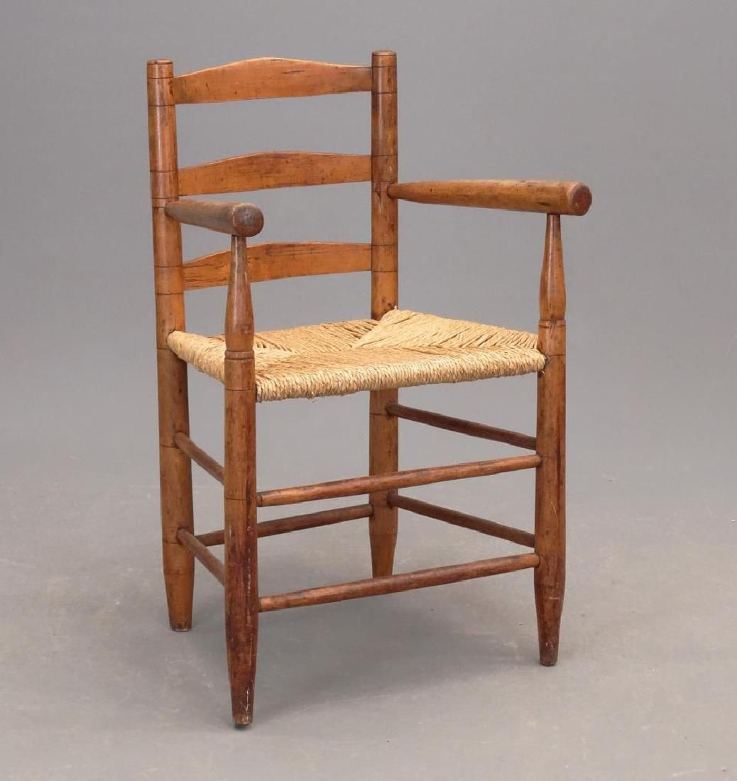 19th c. Armchair