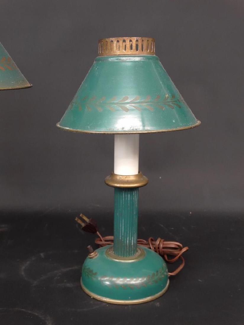 Tole Lamps - 3