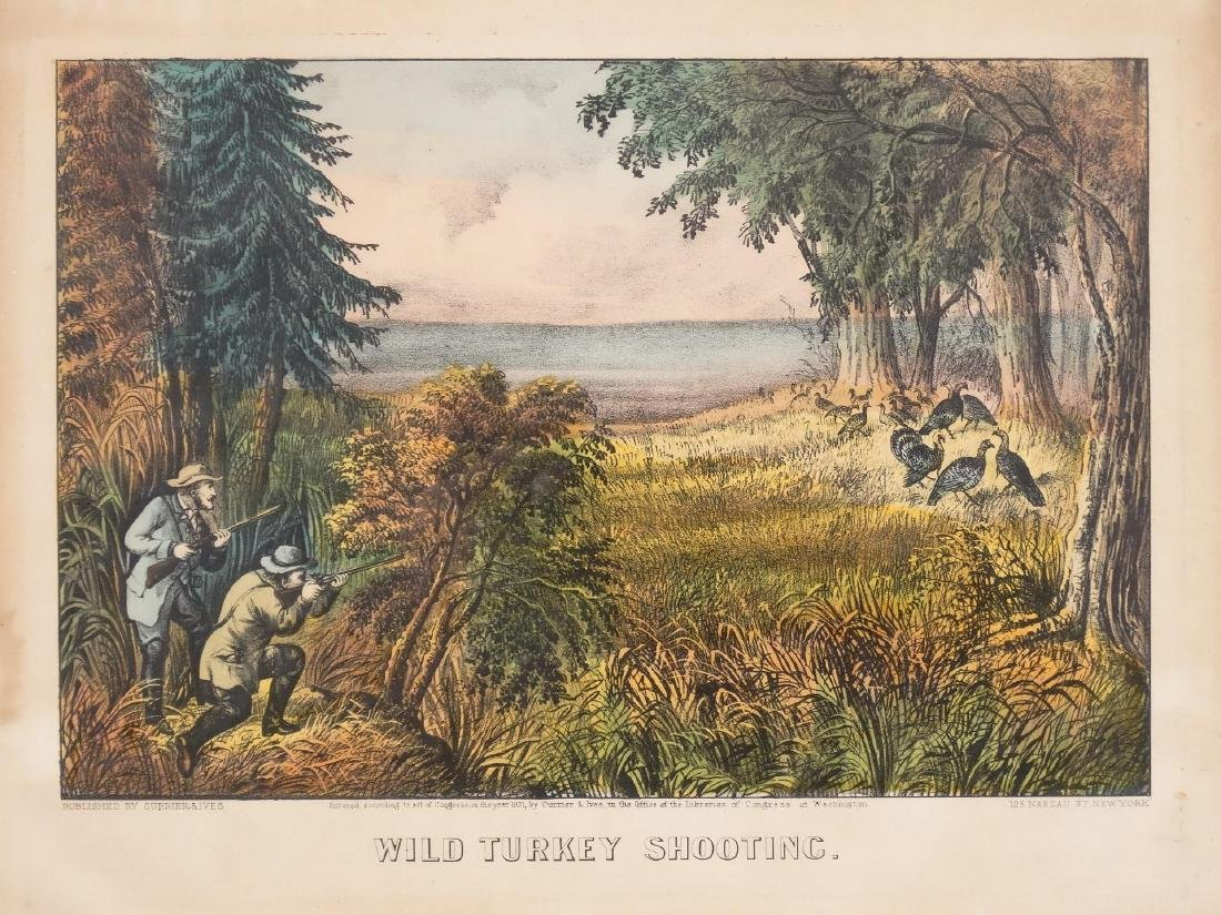 19th c. Currier & Ives Print - 2