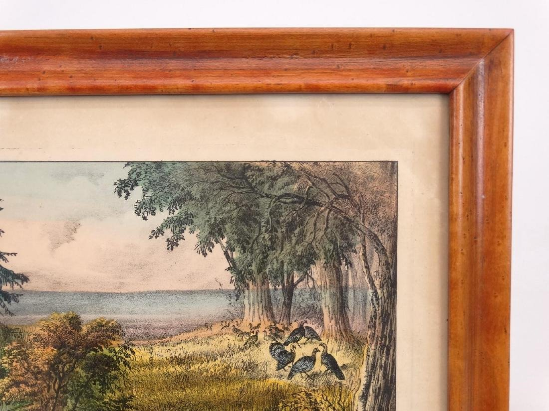 19th c. Currier & Ives Print - 3