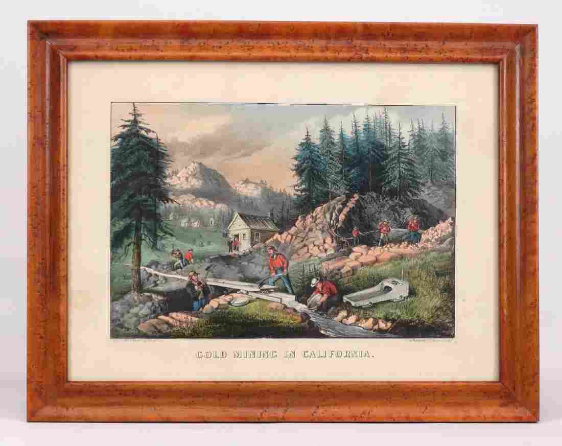 19th c. Currier & Ives Print