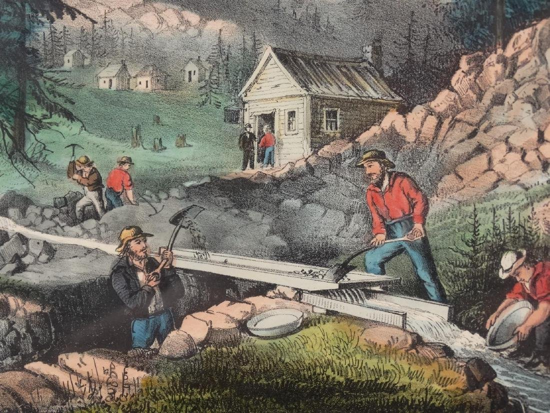 19th c. Currier & Ives Print - 6