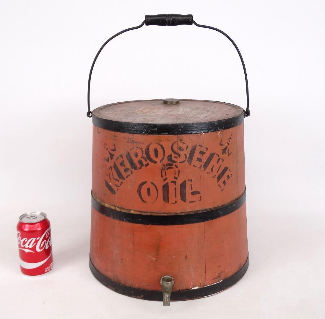 Early Kerosene Bucket