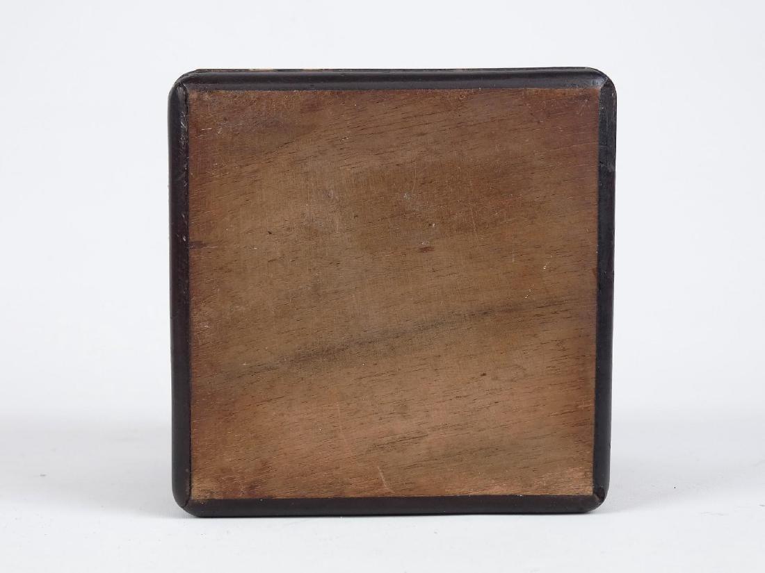 19th c. Inlaid Tea Caddy - 6