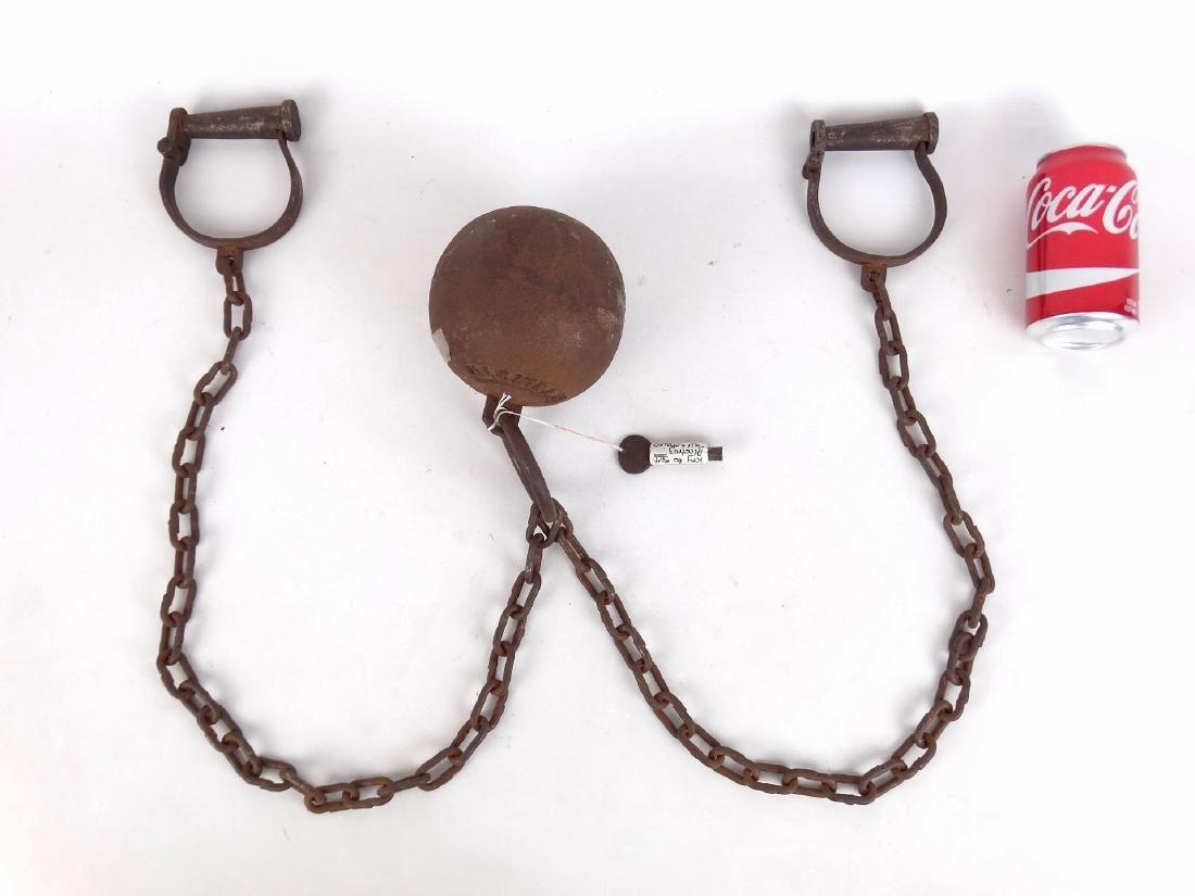 Alcatraz Prison Ball And Chain