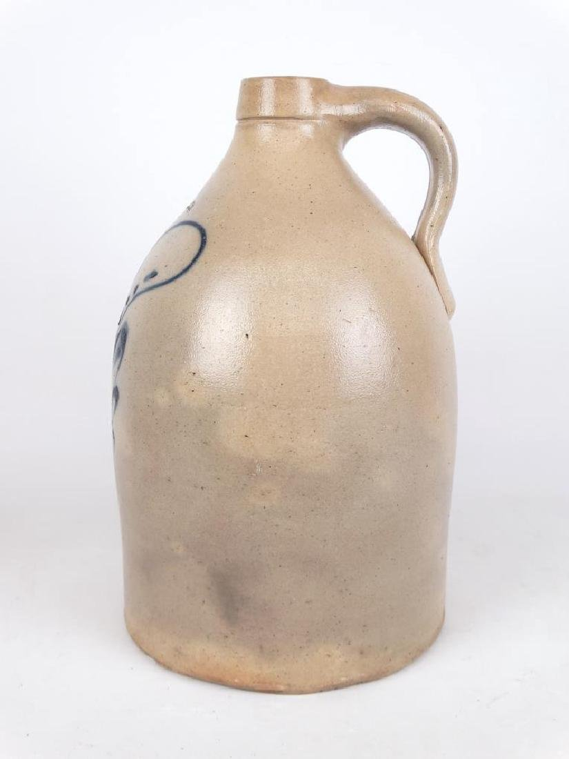 19th c. Stoneware Jug - 6