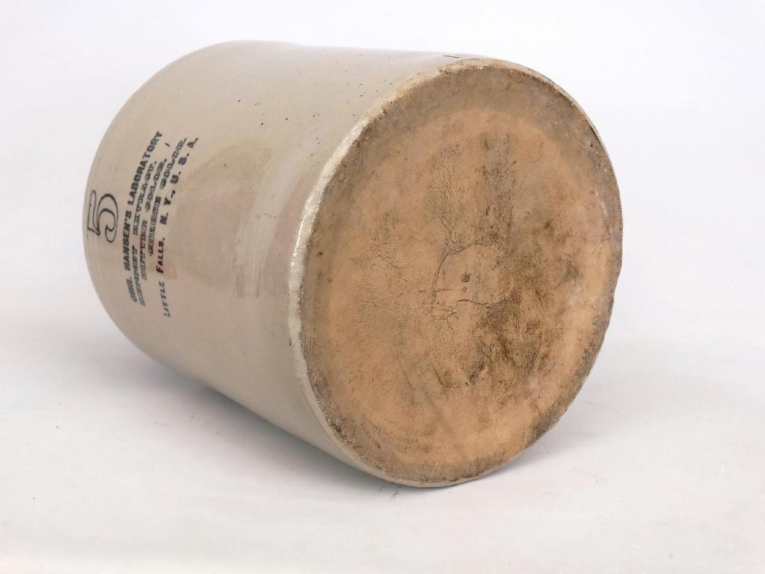 Stoneware Advertising Jug - 5