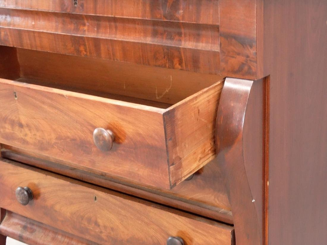 19th c. Empire Chest Of Drawers - 4