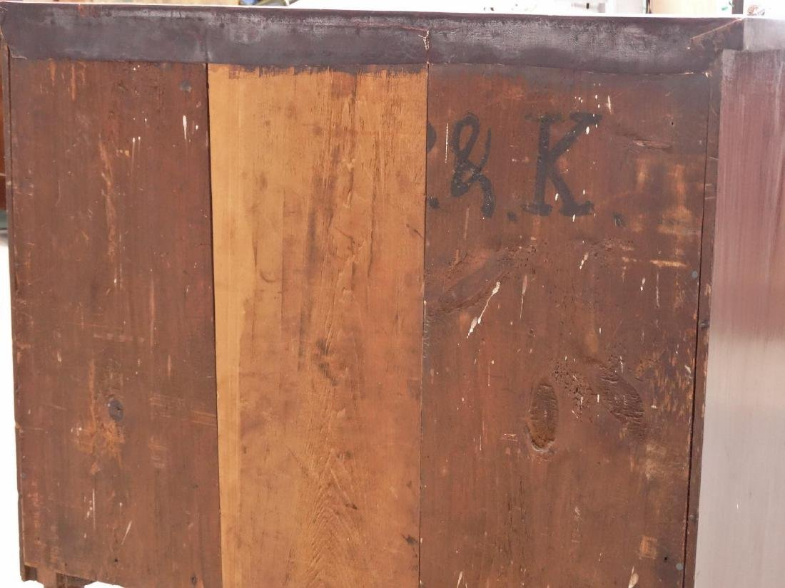 19th c. Empire Chest Of Drawers - 6
