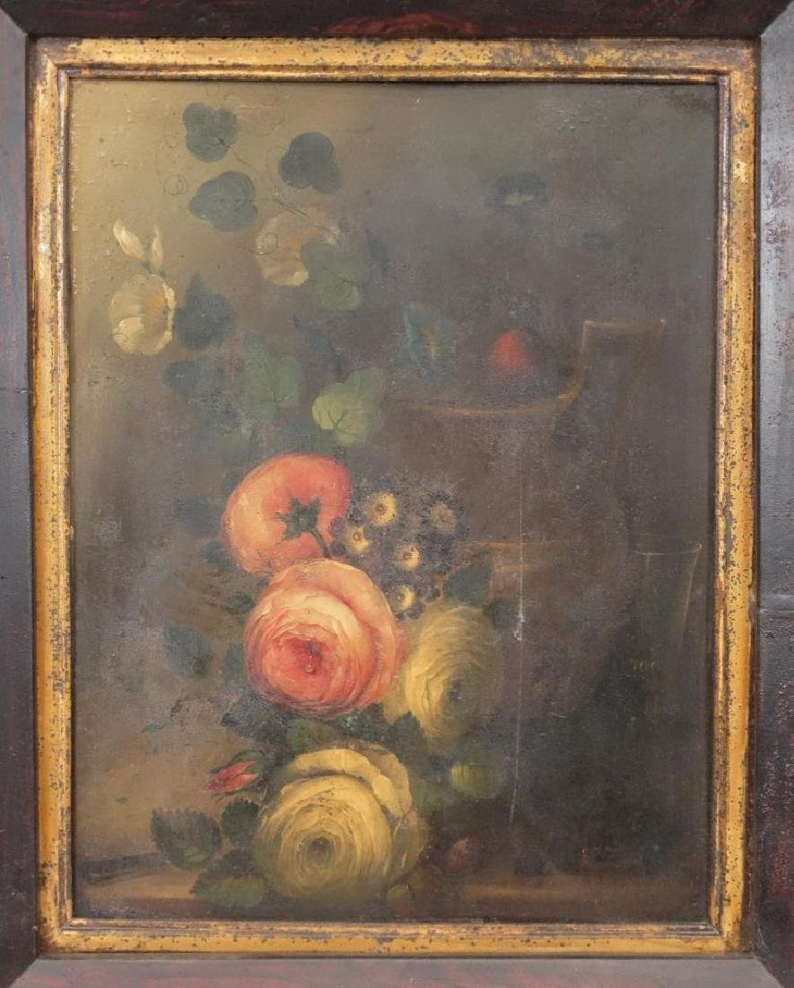 19th c. Painting On Tin - 2