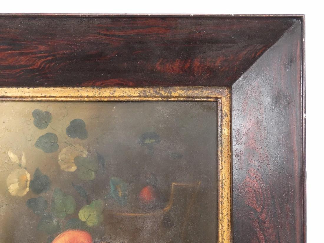 19th c. Painting On Tin - 3