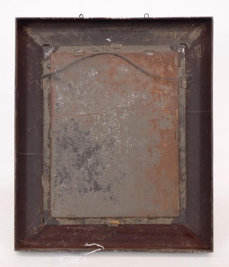 19th c. Painting On Tin - 4