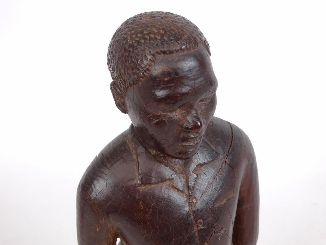 Folk Art Carved Figure - 2