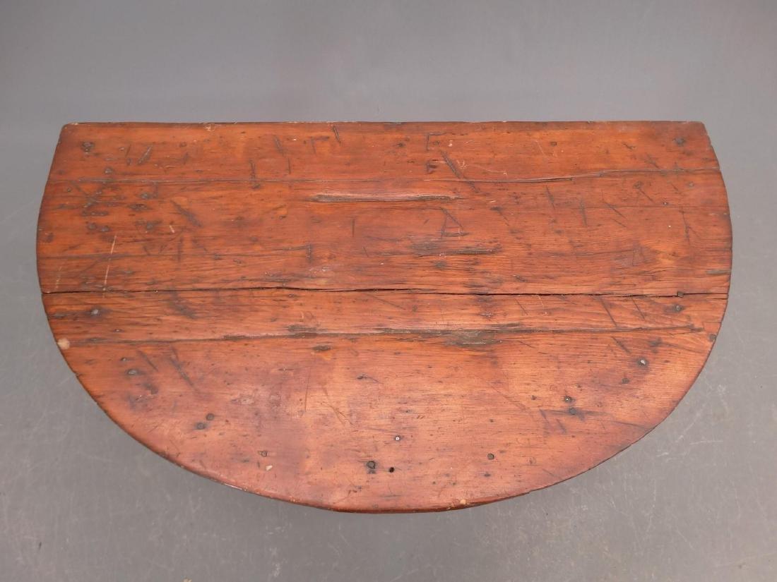 19th c. Demilune Table - 2