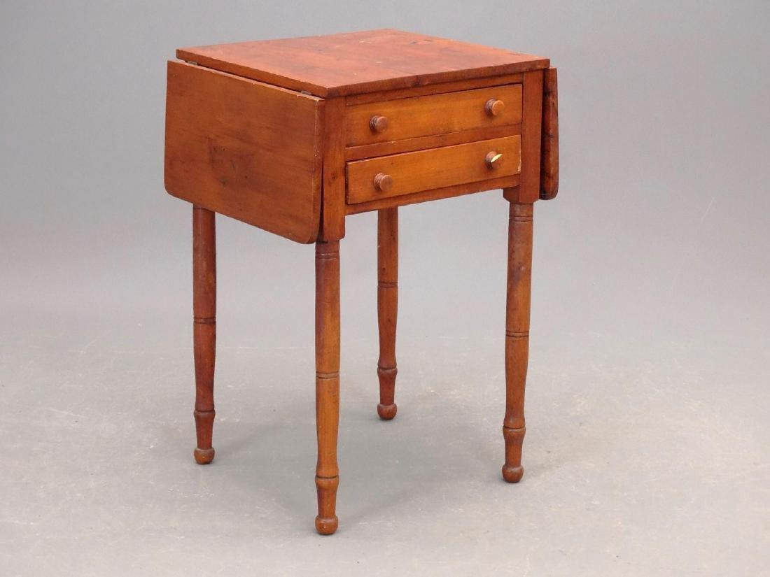 19th c. Two Drawer Stand
