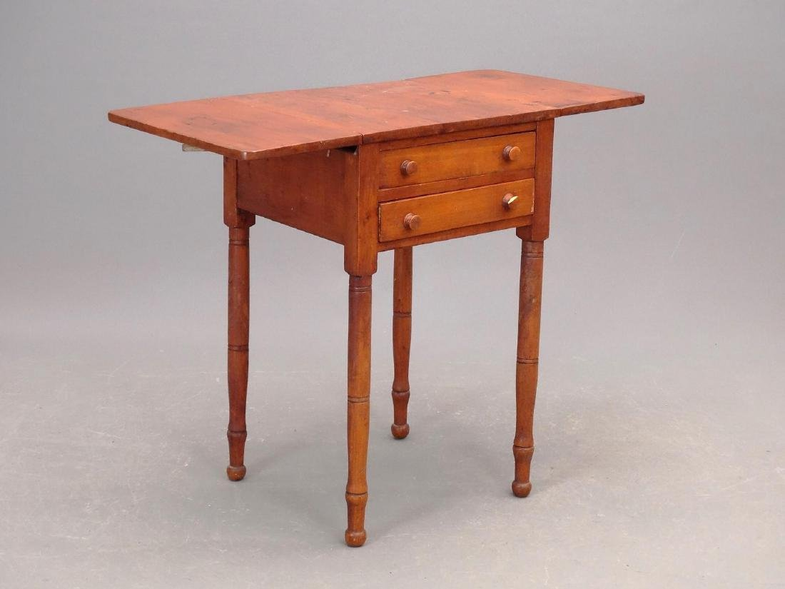 19th c. Two Drawer Stand - 2