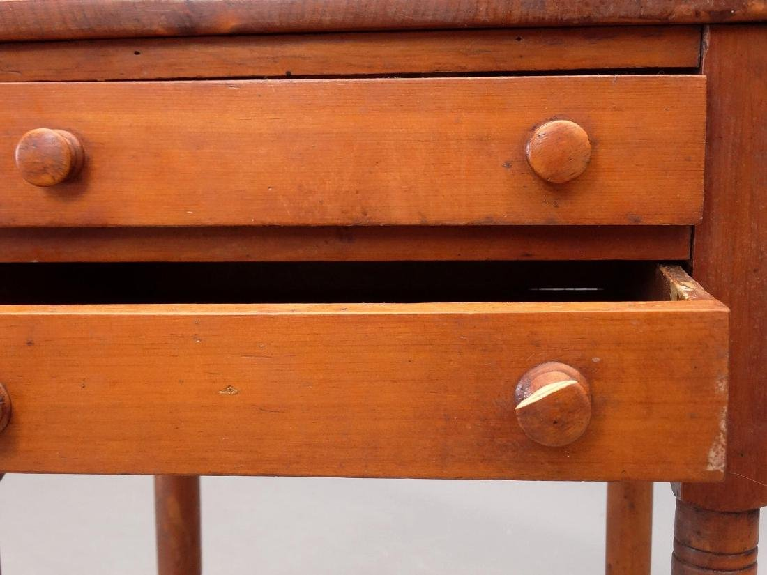 19th c. Two Drawer Stand - 5