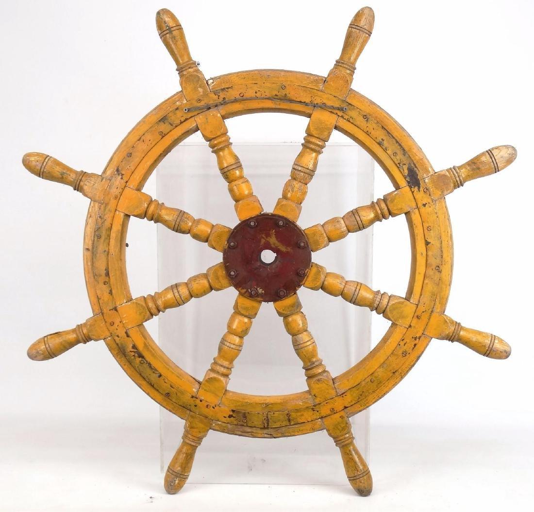 Ship's Wheel - 5