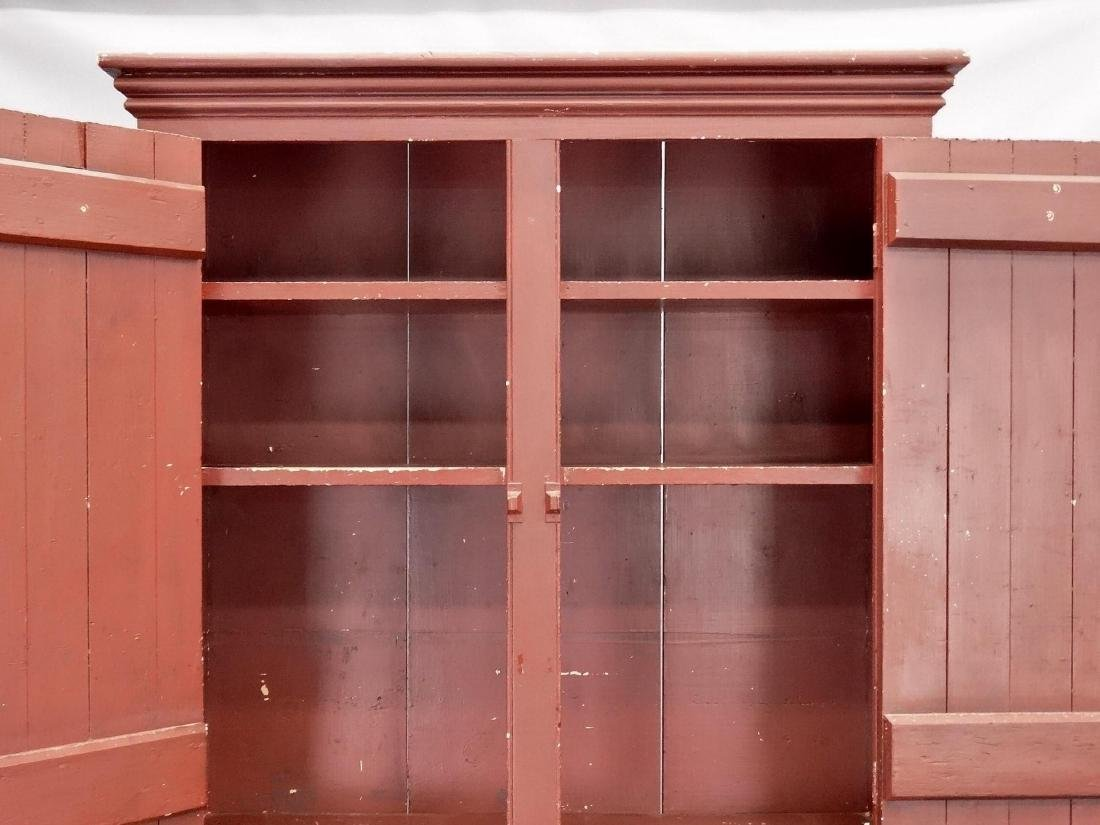 C. 1900 Wall Cupboard - 4