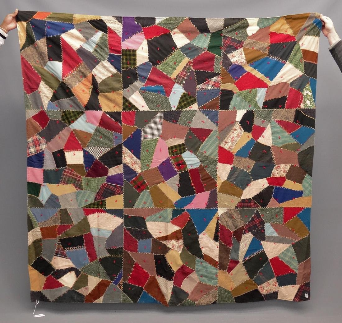 Early Crazy Quilt