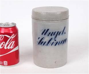 19th c German Stoneware Jar