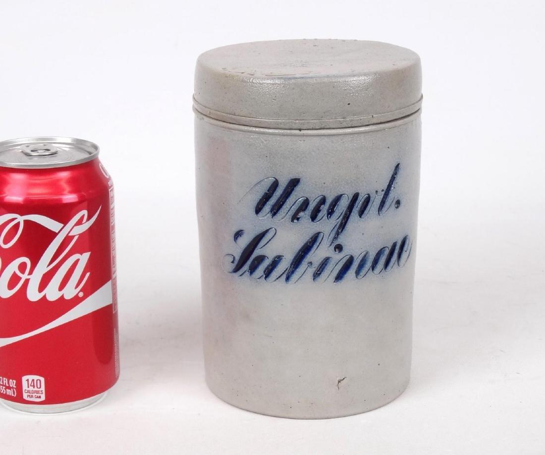 19th c. German Stoneware Jar