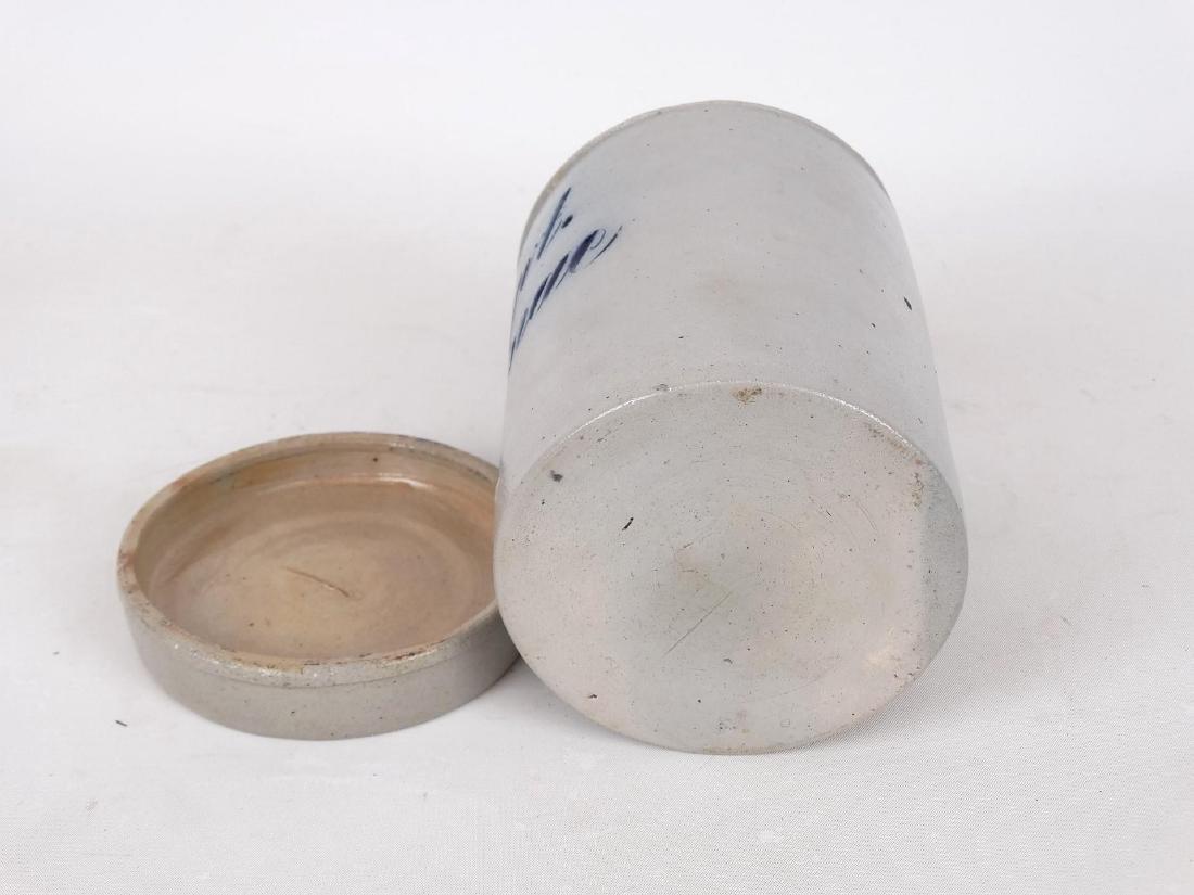 19th c. German Stoneware Jar - 3