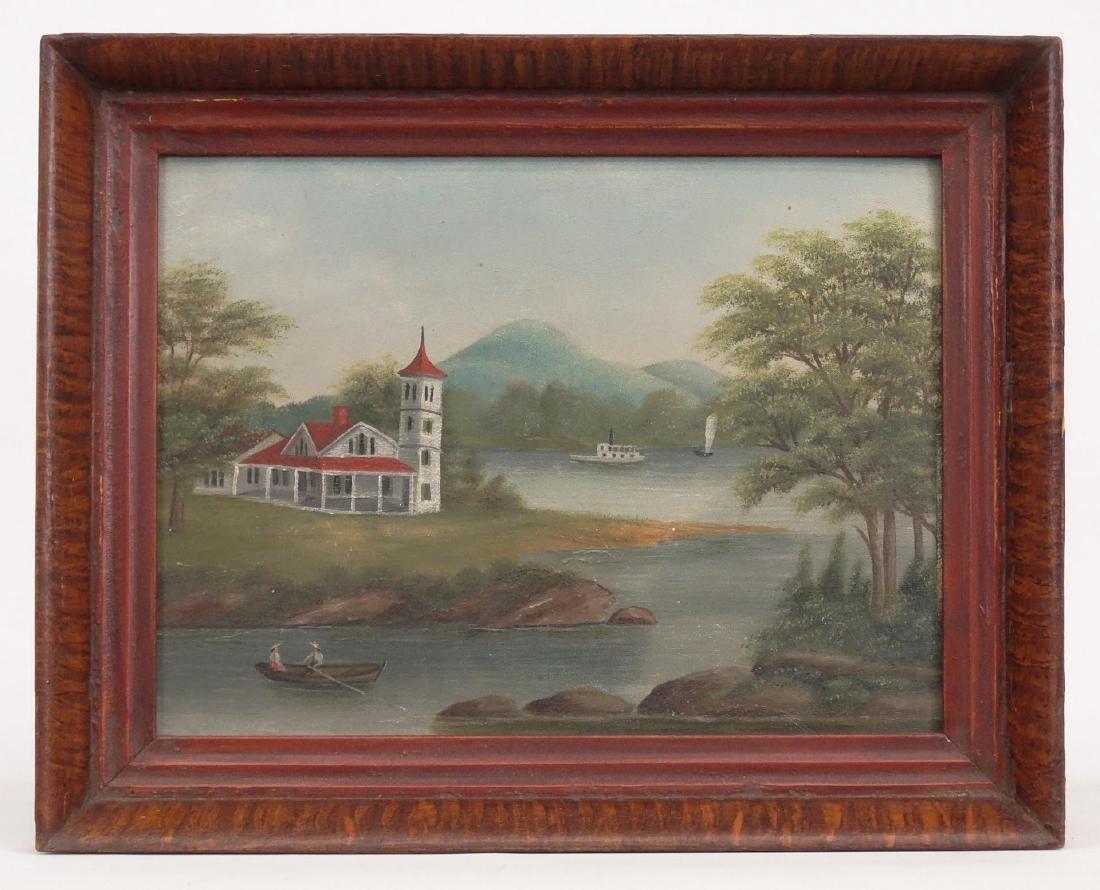 American School, 19th c. Riverscape